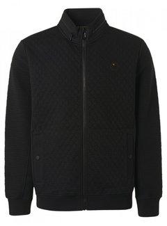 No Excess Vest Double Layer Mixed Jacquards Black (12100819 - 020)