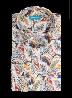 District Indigo Overhemd Print (7.12.026.746 - 307)
