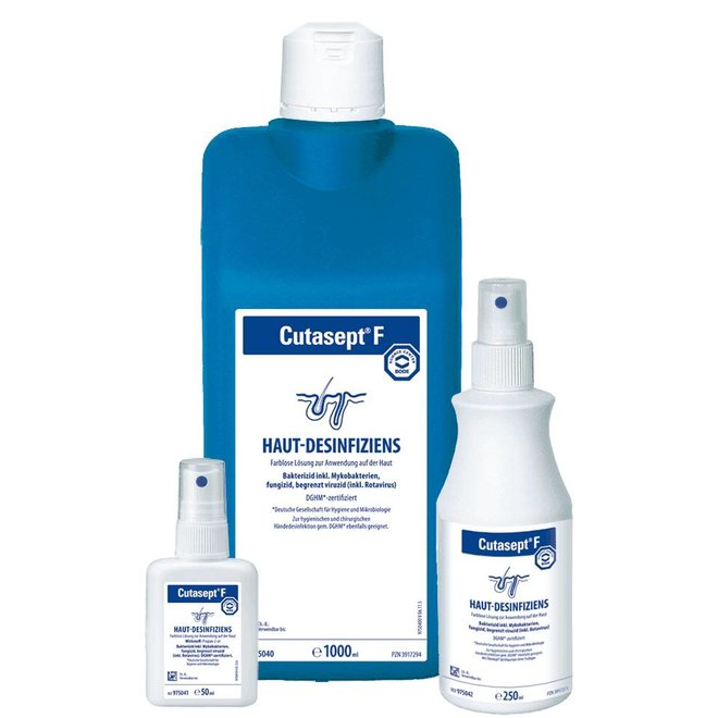 Kosmetikexpertin De Cutasept F Hautdesinfektion Alkoholisches