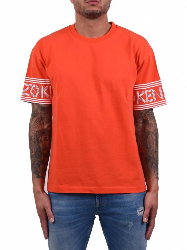 c4b8a4dcfb0 Kenzo Paris 'Logo' Jersey T-Shirt Orange - Mensquare