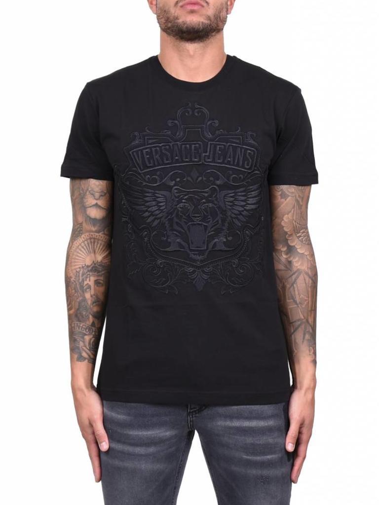 4bf0fc92 Versace Jeans 'Logo' T-Shirt Black - Mensquare