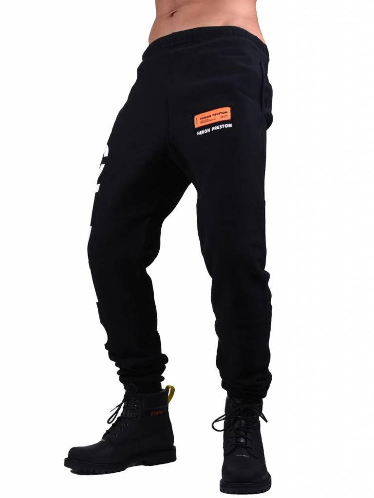 soft and light superior materials elegant appearance Heron Preston Heron Preston 'CTNMB' Sweatpants Black