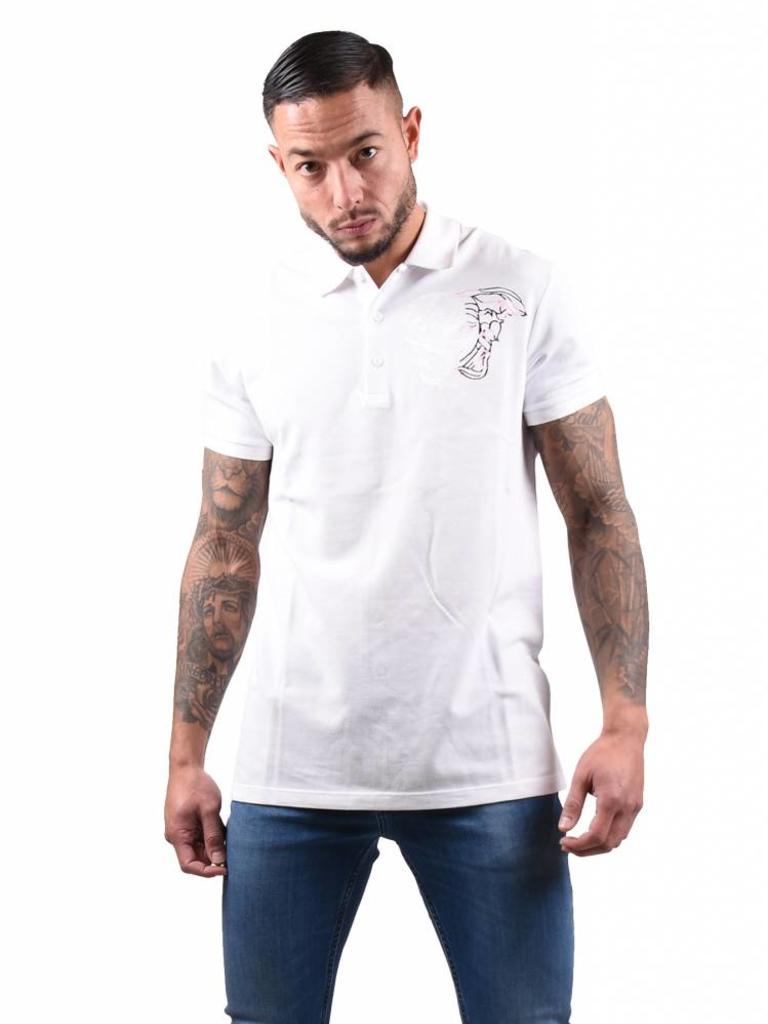 best loved 817ef fff64 Versace Collection Versace Collection 'Medusa' Polo White