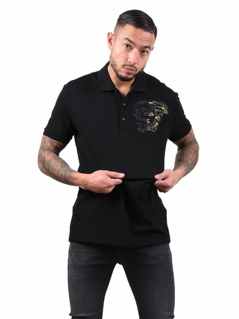 new styles 05ebd 2ffb0 Versace Collection Versace Collection 'Medusa' Polo black