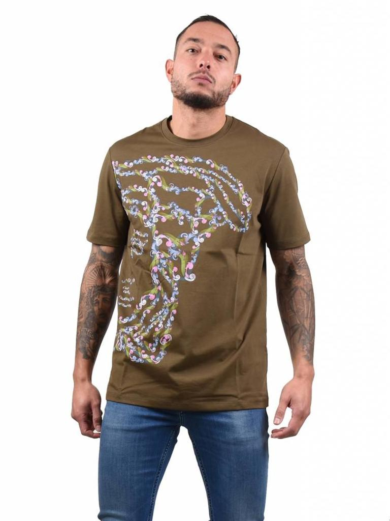 on sale 0e58f 6f961 Versace Collection Versace Collection 'Medusa' T-Shirt Green