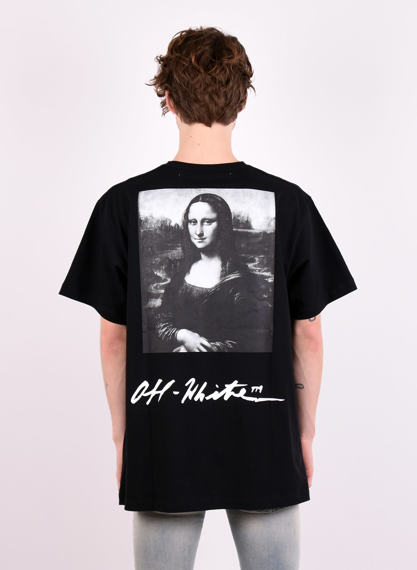 df27dfc0f22 Off-White  Monalisa  T-shirt Black Red - Mensquare