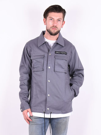 2277a786d Daily Paper Daily Paper 'Coach' Jacket Grey