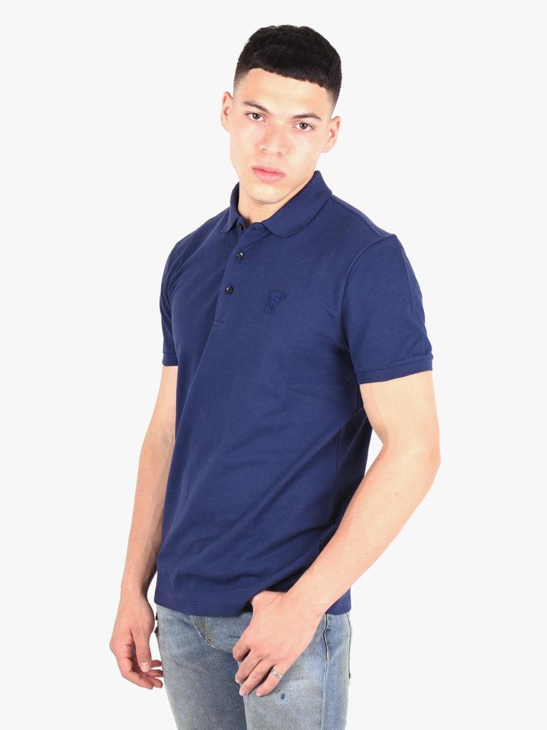 check out d0f80 58991 Versace Collection Versace Collection 'Medusa' Basic Polo Blue