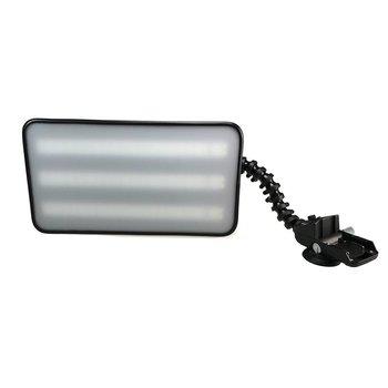 """Pro PDR Chubby HD 18"""" (46 cm) 6-LED-strips met dimmer en Makita batterij adapter"""