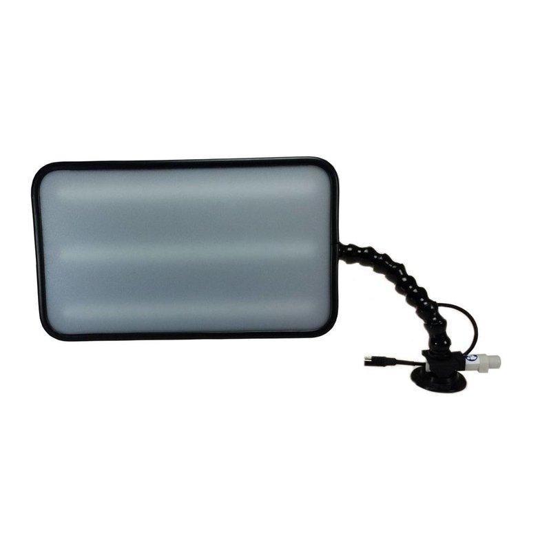 "Pro PDR 14"" (35 cm) Quik-HD 6-LED dimbaar met 12V car plug"