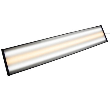"""Ultra Dent Tools 36"""" (91,44 cm) LED 12V Extruded Plastic Light Fixture Only 3 strips (c-w-c)"""