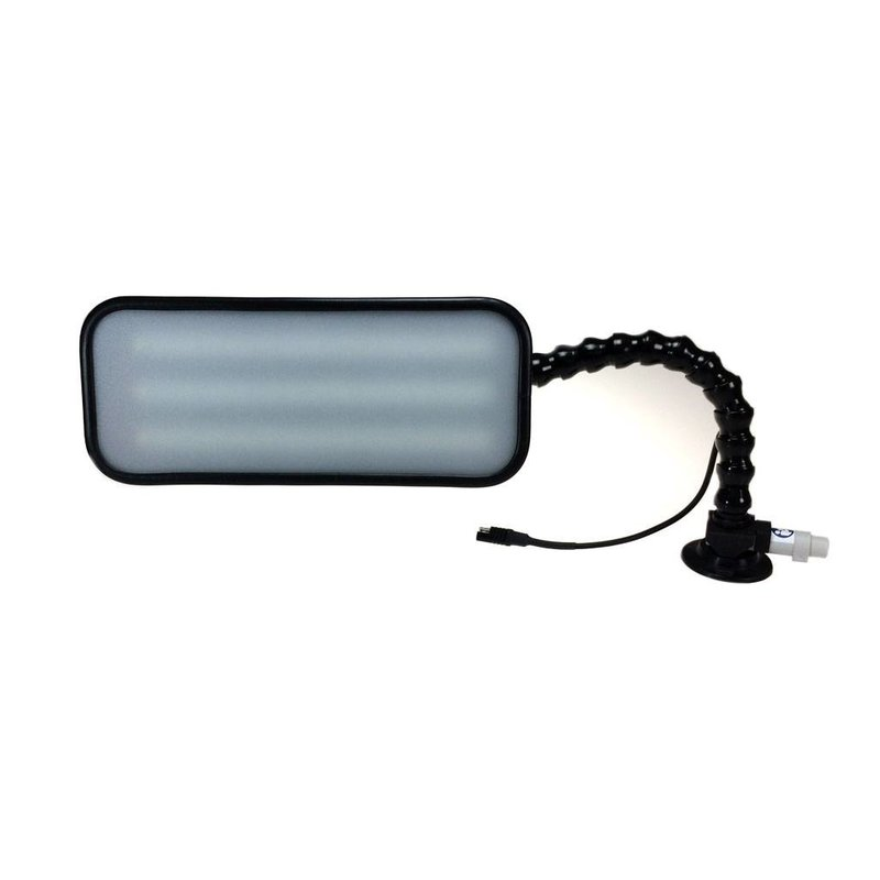 """Pro PDR 12"""" (30 cm) 3-LED regulables con enchufe para automóvil de 12V"""