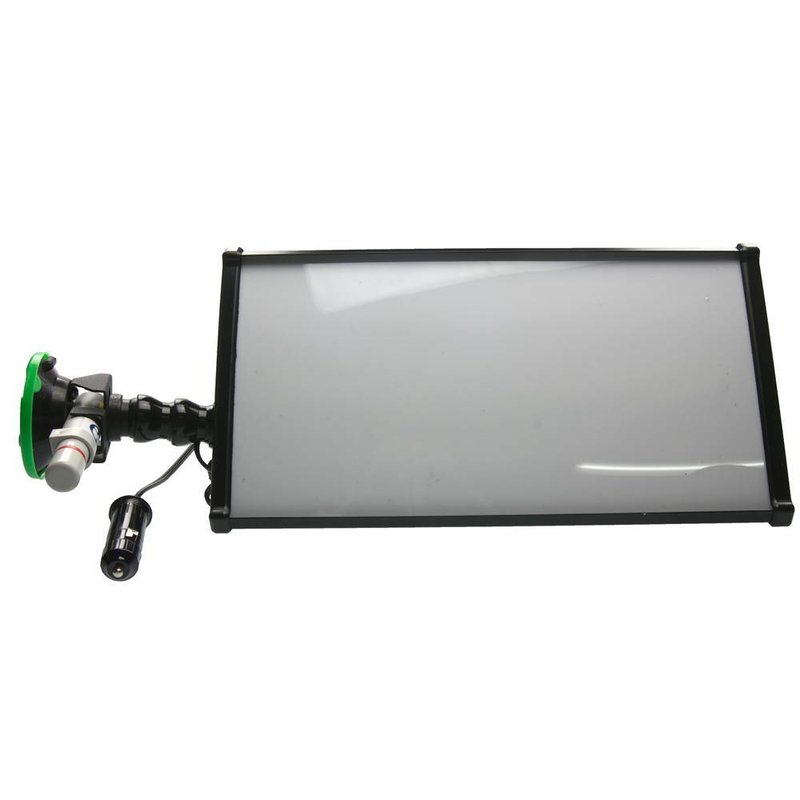 "Mobiele 12v mini lamp 12"" (30 cm) 3-LED-strips met 12V car plug"