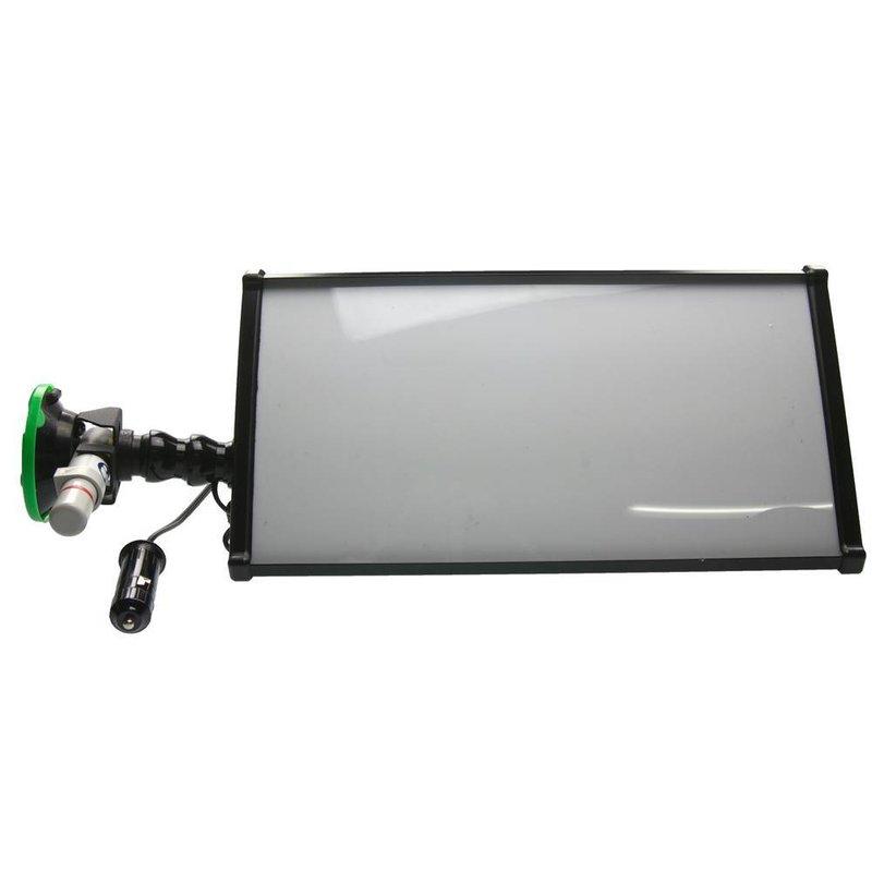 "Mobile mini Lampe 12"" (30 cm) 3-LED-Streifen und 12V Zigarettenanschluß"