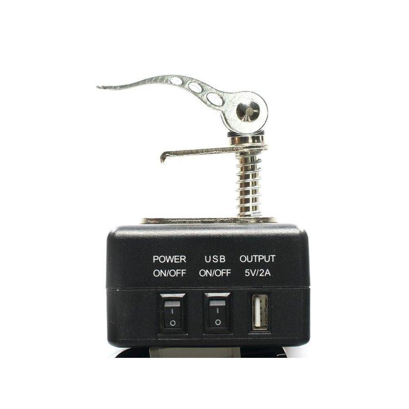 Hail stand battery receiver for Makita battery  (18V to 12V)