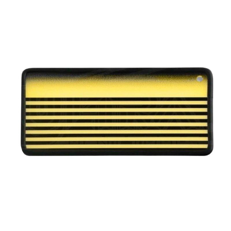 Ghost board fog stripe yellow