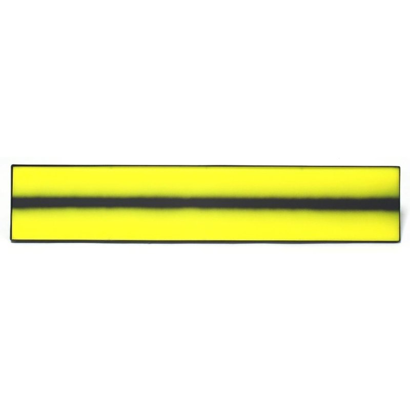 "36"" (91,44 cm) lens cover for A1B shop light yellow w/black fade & velcro"
