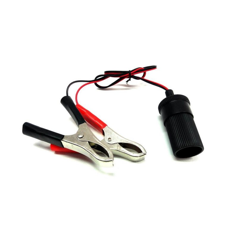 Alligator Clip 12V plug socket