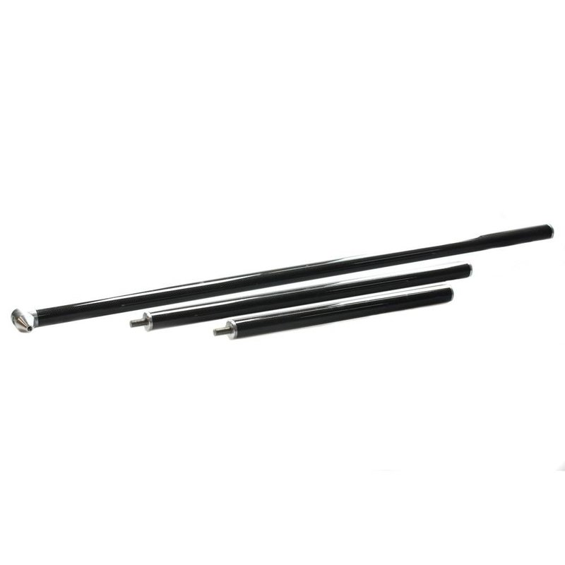 Carbon break down hail rod 3 pieces