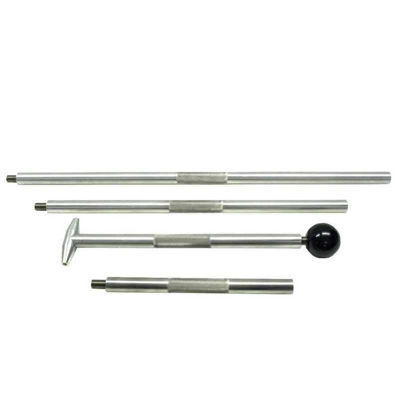 Aluminium hail rod bar