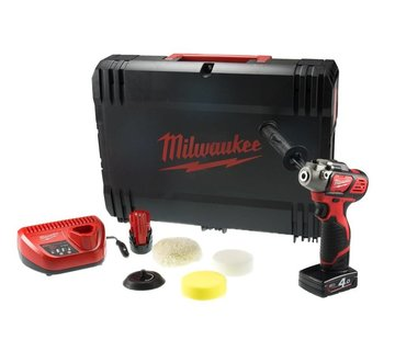 Milwaukee Milwaukee M12 BPS-421X 12V Li-ion accu polisher / sander kit