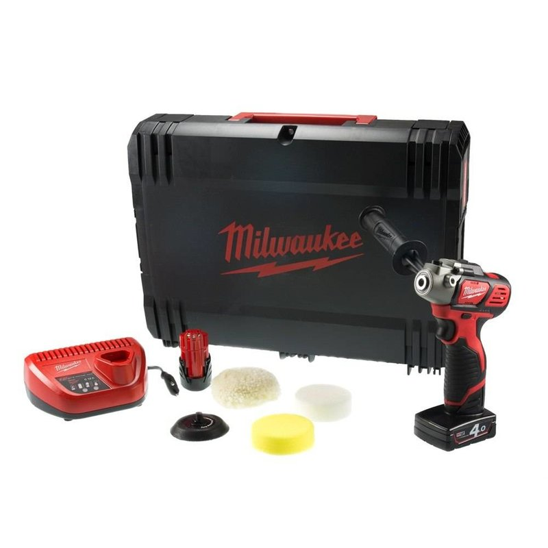 Milwaukee M12 BPS-421X 12V Li-ion accu polisher / sander kit