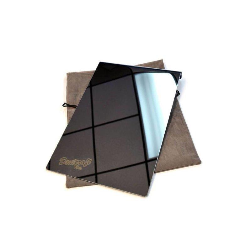 Scheibenschutzschild Metall mit Spiegel