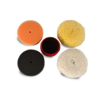 "Dent Tool Company Buffing Kit (4x Velcro-backed 3"" polishing pads)"