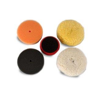 "Dent Tool Company Buffing Kit (4x Velcro-backed 3"" polishing pads)"