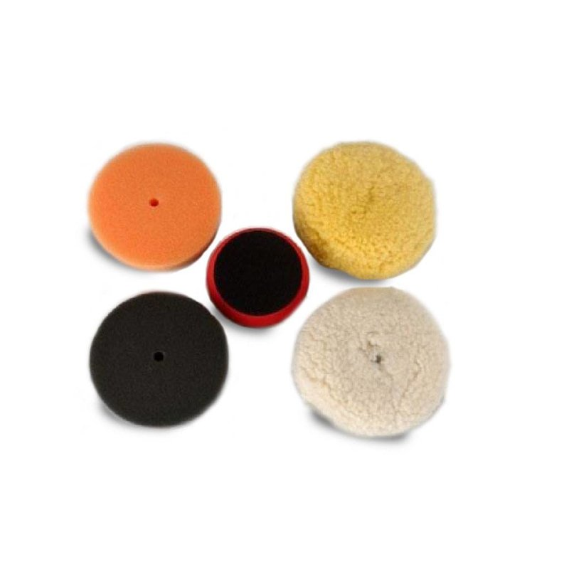 "Buffing Kit (4x Velcro-backed 3"" polishing pads)"