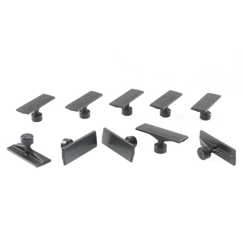 51 mm Black Plague Small Crease Tab - 10pcs