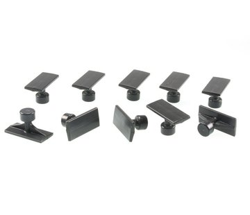 Blackplague 38 mm Black Plague Small Crease Tab - 10 pcs