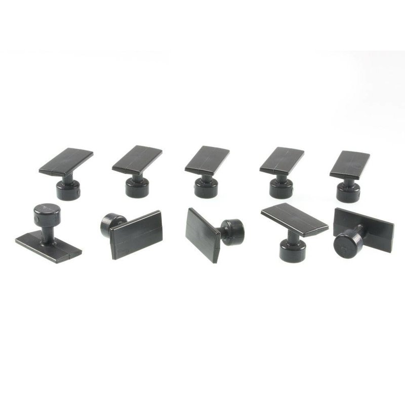 32 mm Black Plague Small Crease Tab - 10 pcs