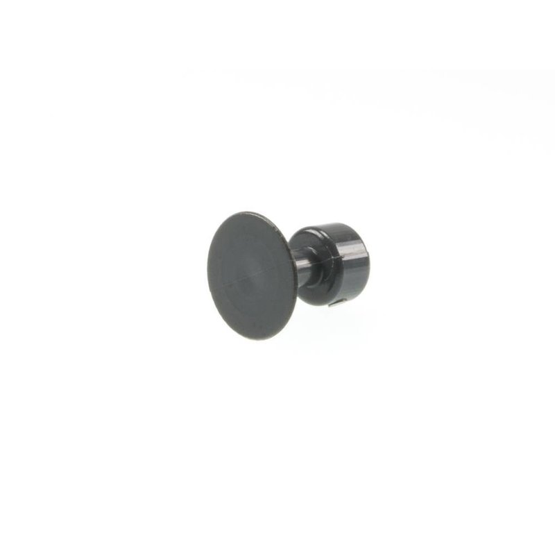 20 mm Black Plague Round Tab - 10 pcs