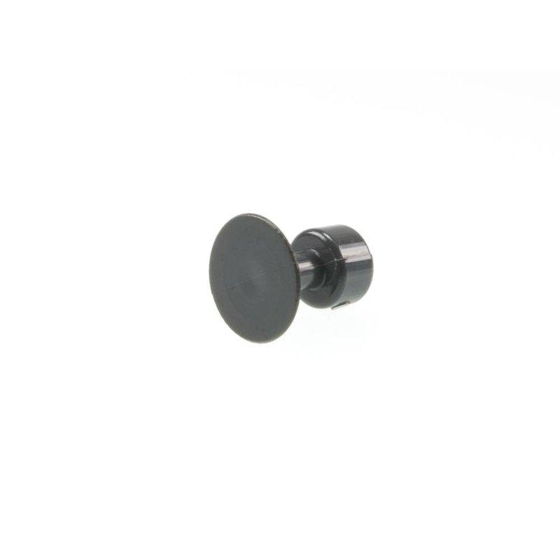 20 mm Black Plague Round Tab - 10 pcs