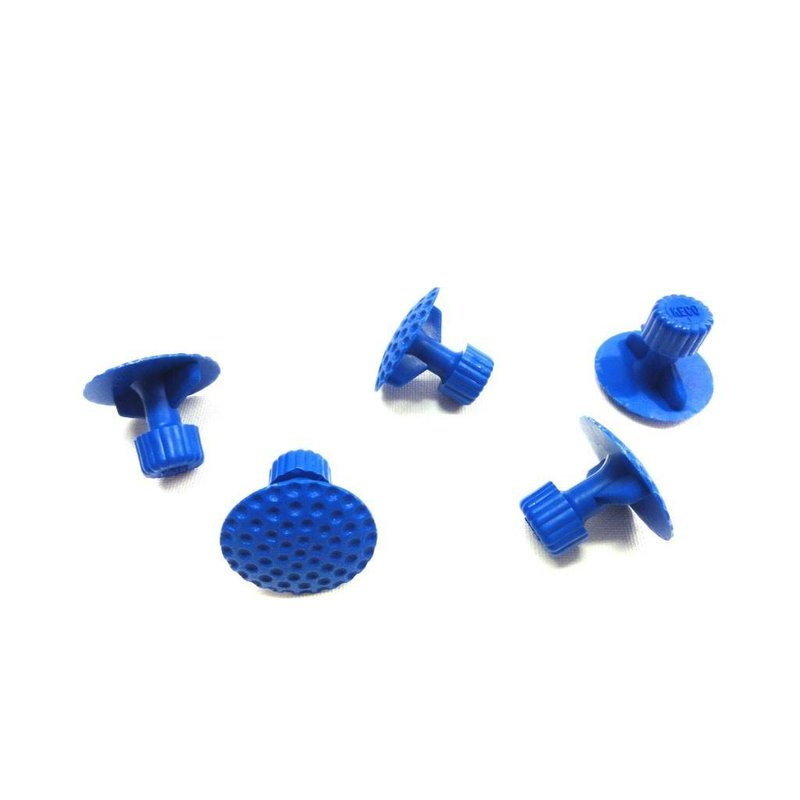 Keco 26 mm Dimpled Winged Round Hail Tab - 5 pcs