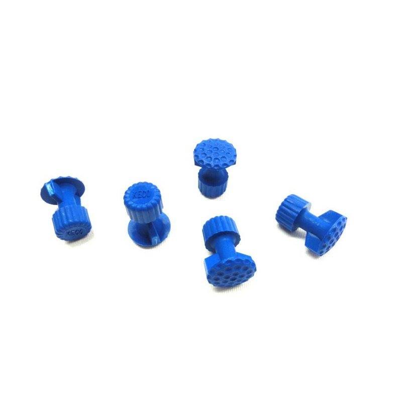Keco 16 mm Dimpled Winged Round Hail Tab - 5 pcs