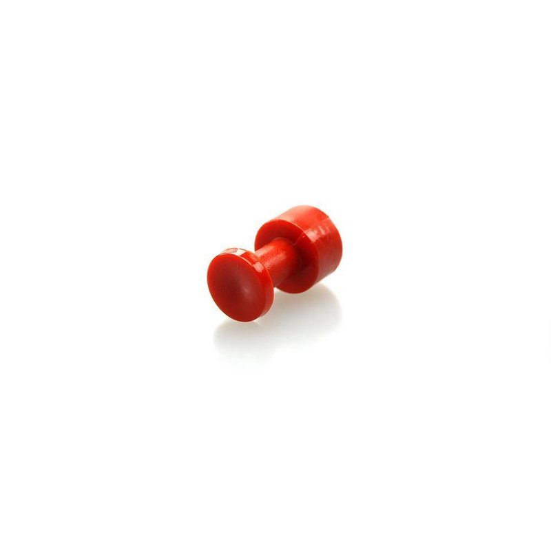 Bloody Orange PDR Tabs 11.5 mm Round Slick - 5 pcs