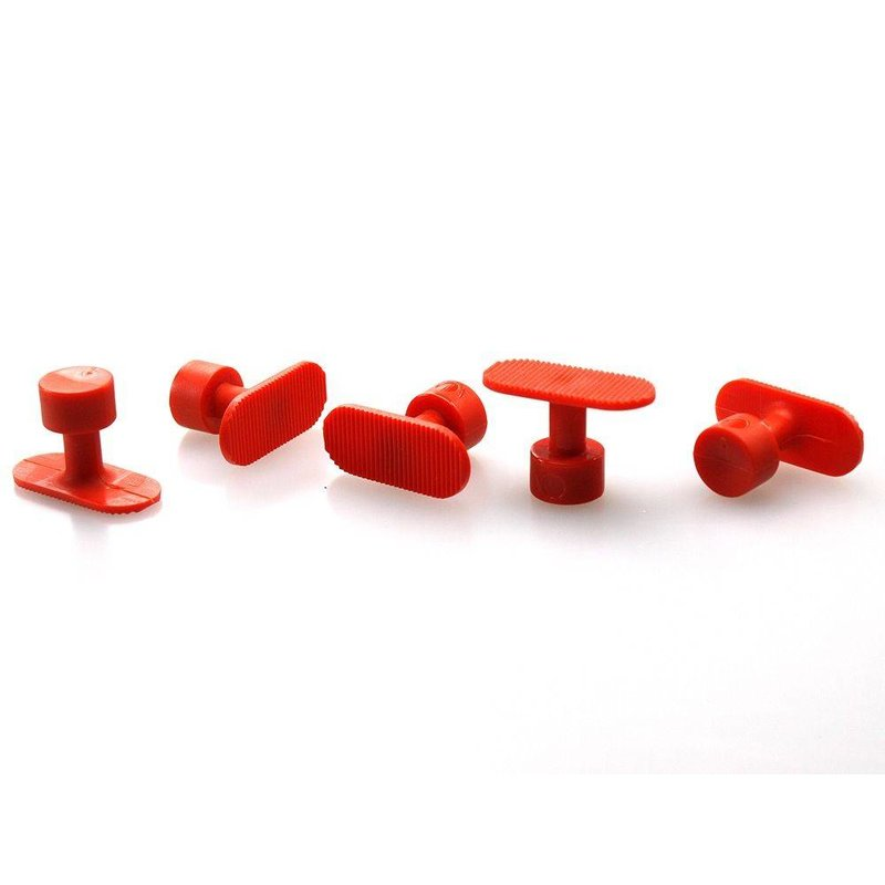 Bloody Orange PDR Tabs 17 mm Round Groved - 5 pcs