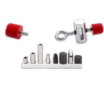 Ultra Dent Tools Flat Bar Tip Slider Kit - 12 pcs