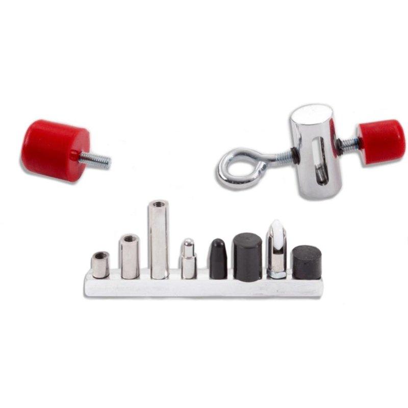 Flat Bar Tip Slider Kit - 12 pcs