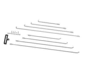 Ultra Dent Tools Adjustable handle softtip rod set - 8 pcs