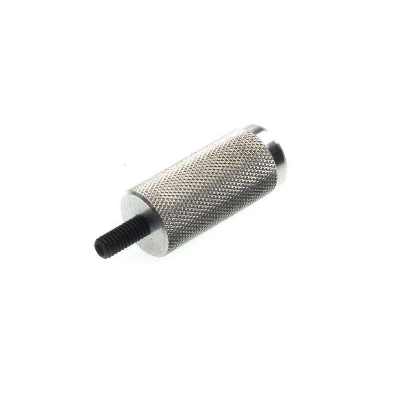 "Knurled Aluminum Handle Extension 1"" x 2-1/4"""