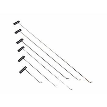 Ultra Dent Tools Shaved Set with flexible 45° blade- 6 pcs