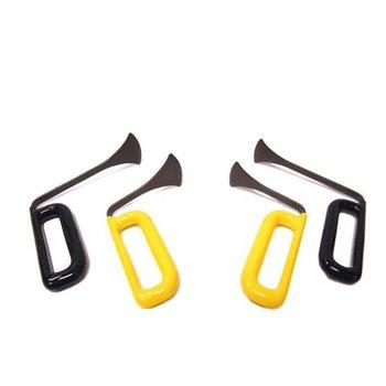 Dentcraft Tools Large Whale Tail hand tool Set - 4 pcs