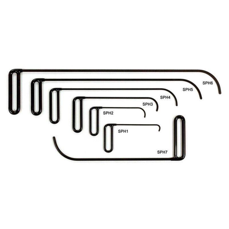 Side Panel Hook Set - 7 pcs