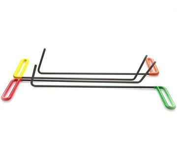 """Dentcraft Tools Door tools Set (5"""" flag) - 4 pcs"""