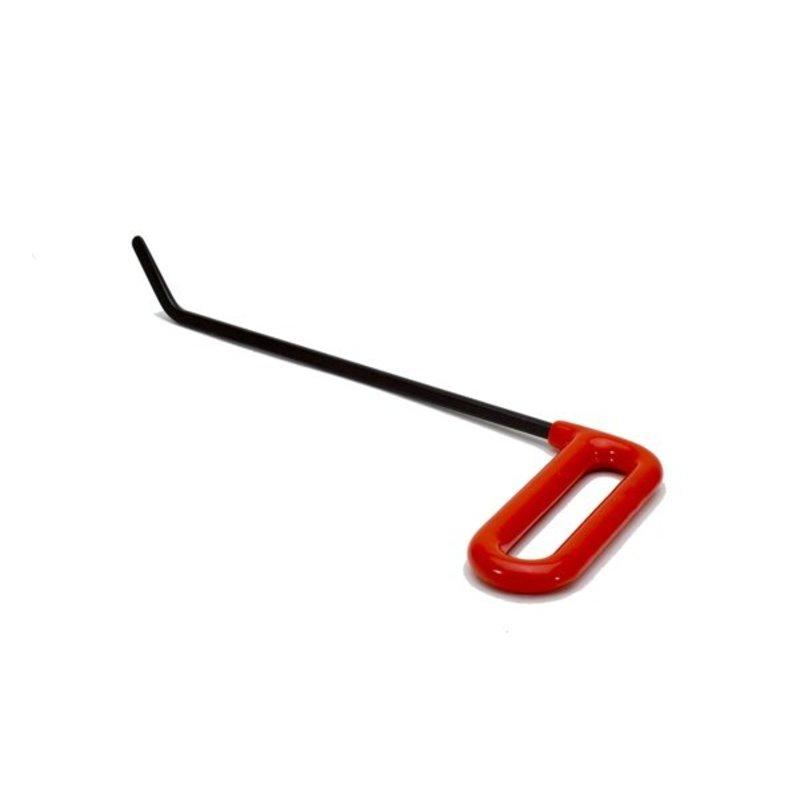 "Brace tool Heavy right 10"" (25,40 cm), .243"" diameter"