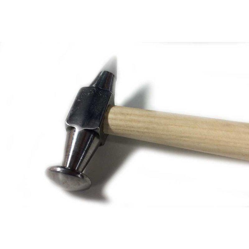 Polierter Ausbeulhammer mit Teflonspitze