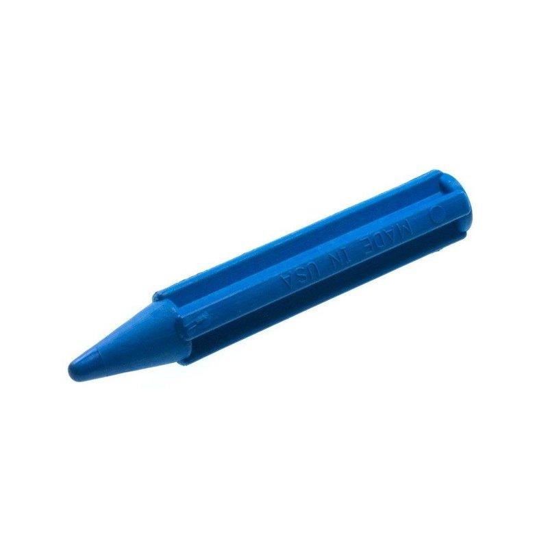 Plastic semi sharp Punch Blue